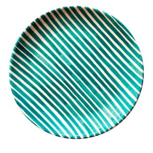 Small Pattern Plate Stripe