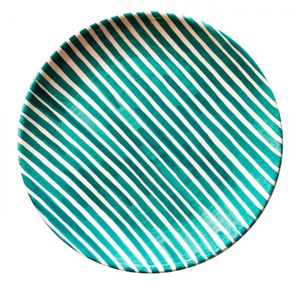 Small Pattern Plate Stripe