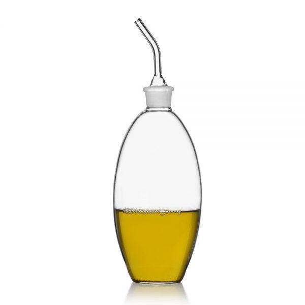 Ovale oil and vinegar bottle