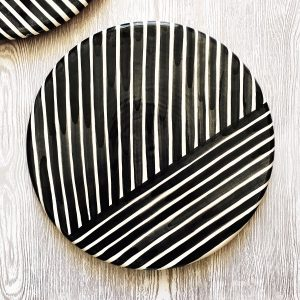 Cheese board graphic platter criss-cross