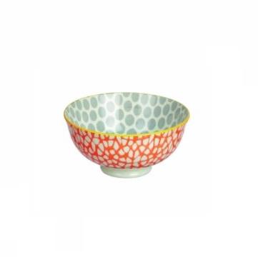Set of 2 bowls in orange