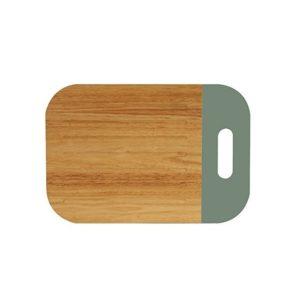 Cutting board green 28×22 cm