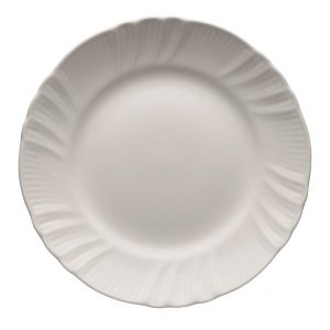 Flat plate romantic white