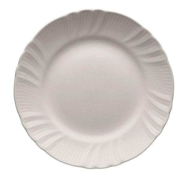 Flat plate romantic white