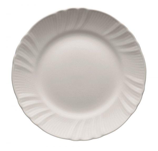 Fruit plate romantic white