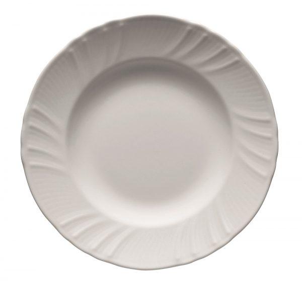 Deep plate romantic white