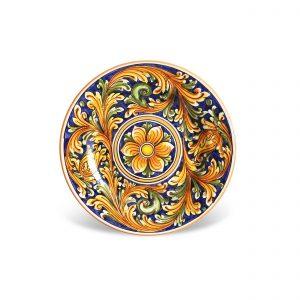 Dessert plates Caltagirone – Panarea