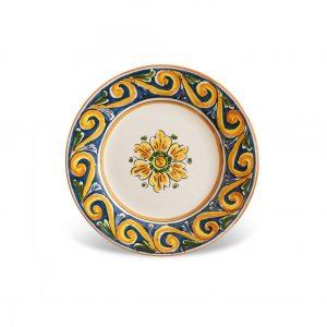 Dessert plates Caltagirone – Pantelleria