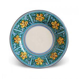 Flat plates Caltagirone – Taormina