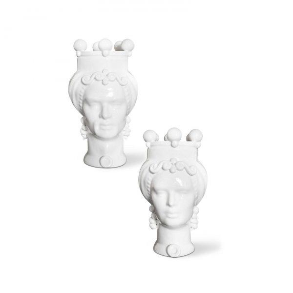 Pair of Moor's head picciotti innamorati small