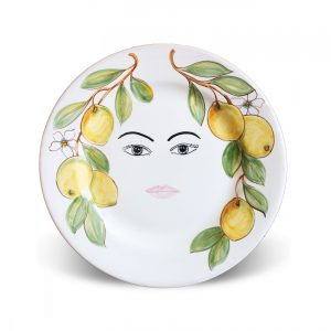 Plates with face Caltagirone – Bice