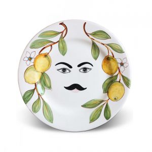 Plates with face Caltagirone – Ubaldo
