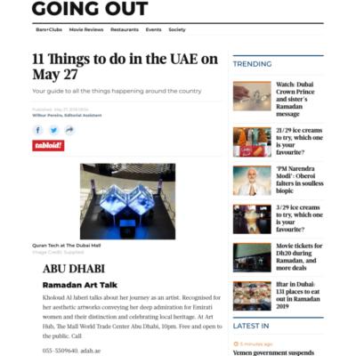 Gulf News - 05.27.2019