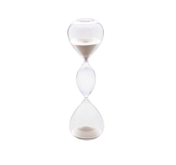 Hourglass white