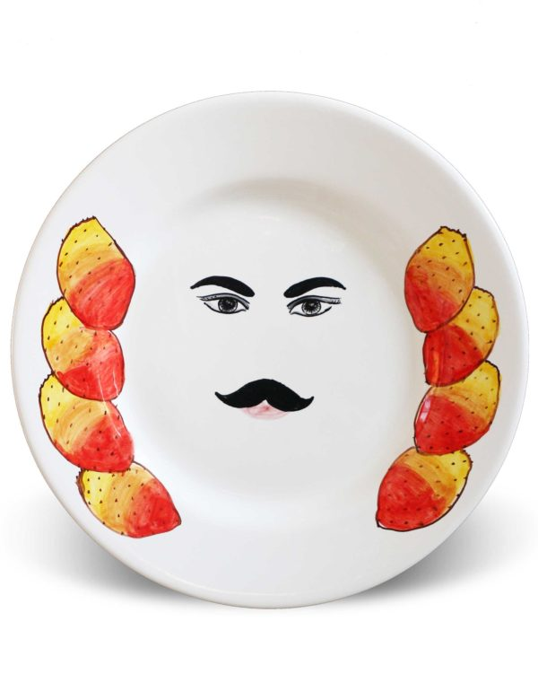 Plates with face Caltagirone – Toto