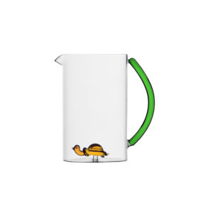 Animal farm jug turtle with seagrass