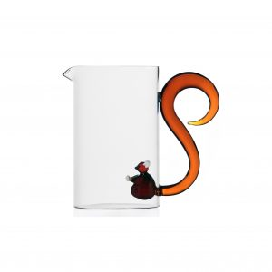 Animal farm jug squirrel with tail handle