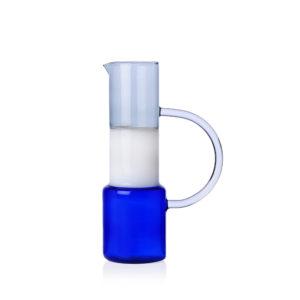 jug caipirinha blue/white/smoke