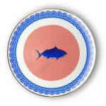 Round platter fish