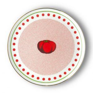 Round platter tomato