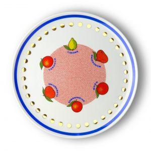 Round platter citrus