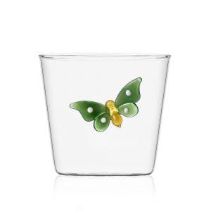 Garden picnic tumbler green butterfly